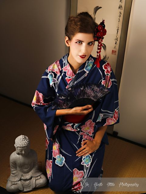 kimono fotózás, yukata fotózás, Masak club, tsumami kanzashi, Hanah kanzashi,