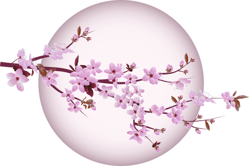kanzashi hajdísz, japán hajdísz, szalag virág